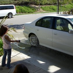 Wash'n Mom's Car