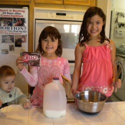 When Life Gives You Girl Time…..Make Pudding!