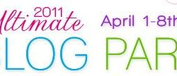 the 2011 Ultimate Blog Party!